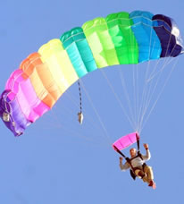 most parachute jumps Don Kellnerm