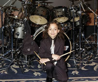 youngest professional drummer Julian Pavone