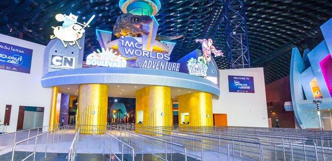 Largest Indoor Theme Park Dubai Breaks Guinness World
